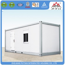 Temporary PU sandwich panel prefab shop