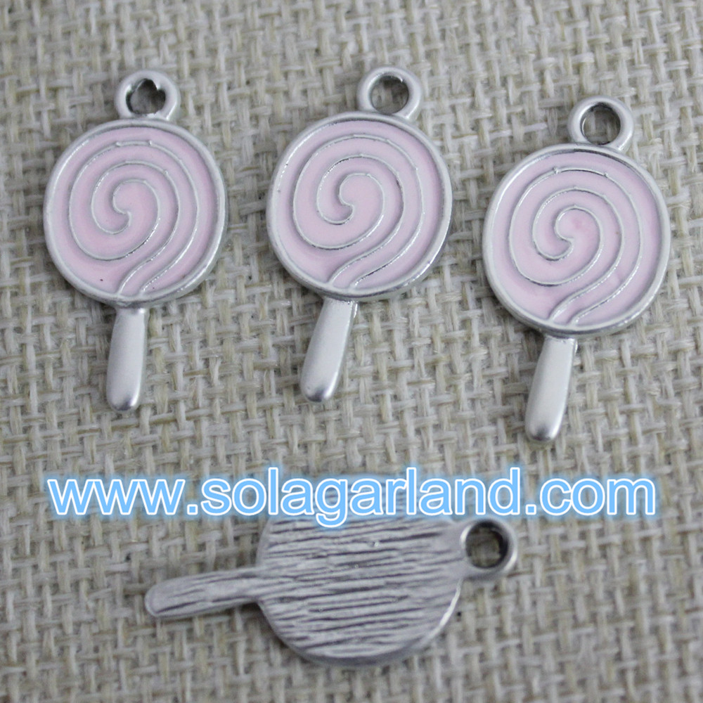 Lollypop Bead Pendants