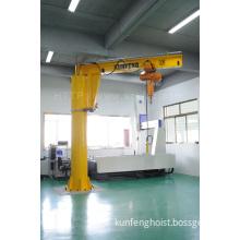 Bzq Type Electric Hoist Revolving Mast-Type Jib Crane