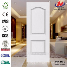 JHK-M01 Embossed Modern Model of Smooth Surface White Primer Mold High Quality Door Skin