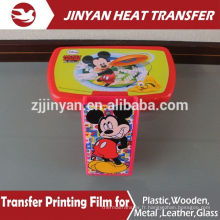 heat transfer printing film for plastic pails