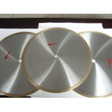 Lames de coupe diamantées de 500 mm continues pour la céramique