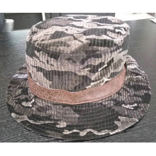 Pequeño MOQ Corduroy Hot Camo Bucket Cap (ACEW0167)