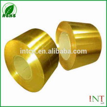 Professional copper supplier high light polished brass strips CuZn37