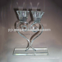 Excellent Crystal Clear Candlestick For Wedding Table Decoration