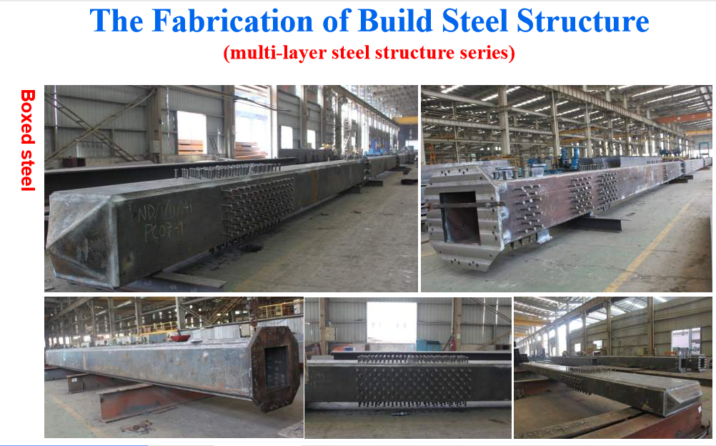 the fabrication of building steel structure two