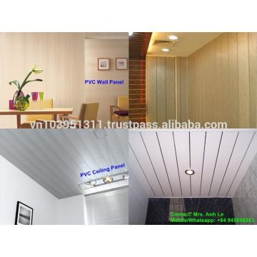 Painel de PVC de design de madeira