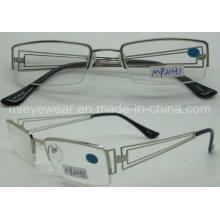 Moda metal óculos moldura óptica (mp21031)