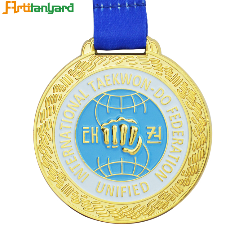Special Metal Medal With Silver Plating