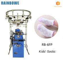 Peúgas pessoais do lcd da tela de toque que fazem a máquina na confecção de malhas controlada elétrica da peúga do zhuji