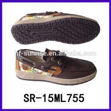 Горячие продажи плоской обуви мужчины мужская обувь 2015 италия мужчин повседневная обувь