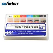 Millimeter Markierung Dental GP Punkte / Gutta Percha Punkte