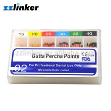 Millimeter Marking Dental GP Points/ Gutta Percha Points