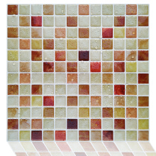 3D Self Adhesive Mosaic Wall Tiles Kitchen Backsplash
