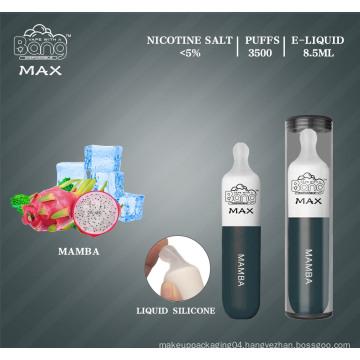 3500 Puffs Milk Bottle Disposable Electronic Cigarettes