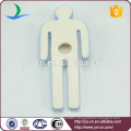 men and women shape hanging sign board for bathroom