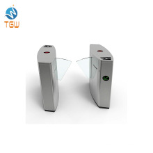 Automatic Barrier Flap Turnstile Gate with Fingerprint of Subway