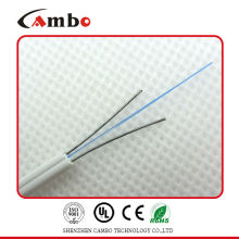 Guter Preis Faser zum Hauptkabel SM G657A 9/125 ftth Tropfenkabel Faser-Optikkabel