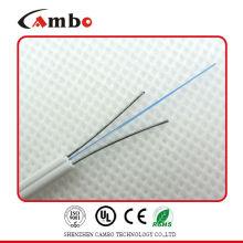 Хорошее качество волокна для домашнего кабеля SM G657A 9/125 ftth drop cable Волоконно-оптический кабель