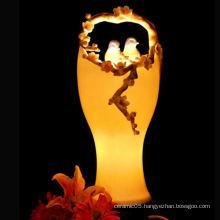 Ceramic artistic birds nest lamp shades