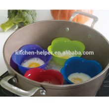 New Product Silicone Egg Poacher Pods for cooking