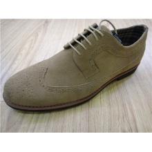 Zapatos para hombres de oficina de encaje de punta redonda (NX 505)