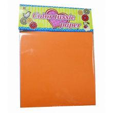 moulins à papier de soie, feuilles de papier de soie de couleur