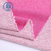 Knit Back Loop Polyester Cotton Blend Terry Fabric