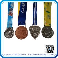 Personalisierte kostenlose 3D-Medaille Medaillon Award Ribbon