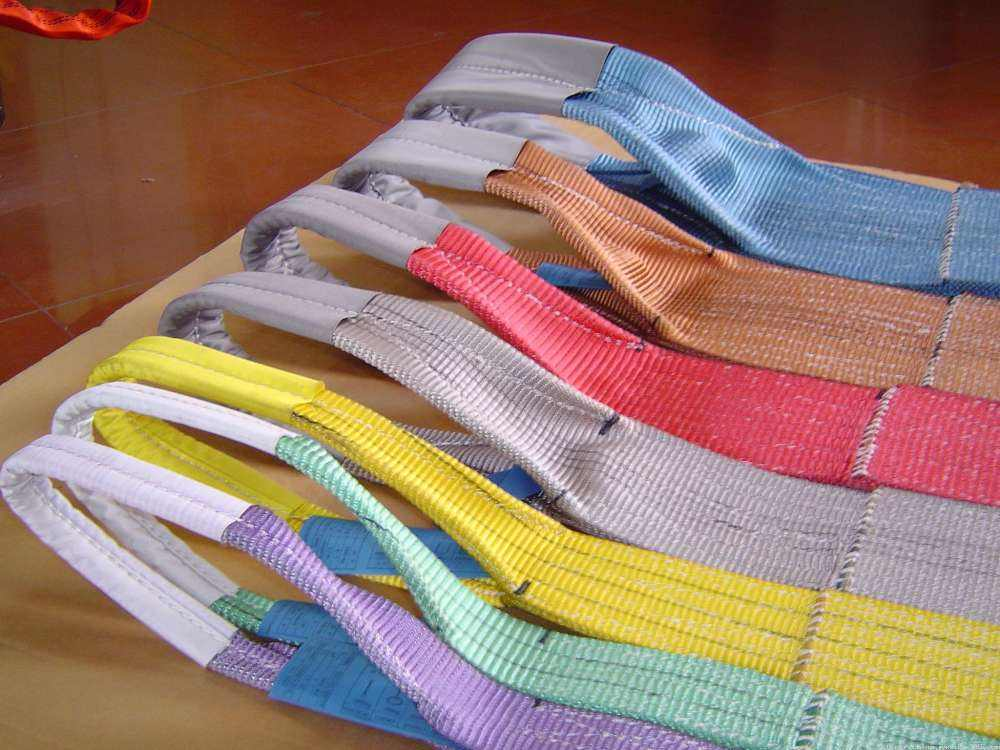 Webbing sling safety factors
