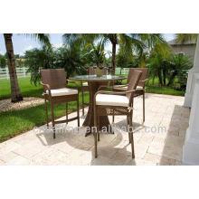 Горячий набивной стол и стулья высокого качества из ротанга