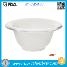 Ceramic Shaving Bowl with Custom Logo Printed