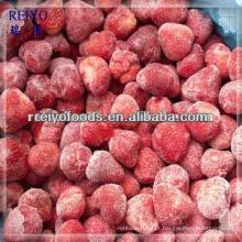 IQF morangos congelados