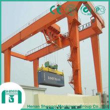 Grue à portique montée sur rail (RMG) pour empiler les conteneurs de 20 pi et 40 pi