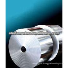 Bande d'aluminium pour coque électromagnétique