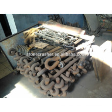 industrial adjustable tension rod for jaw crusher PE 600X900 and impact crusher