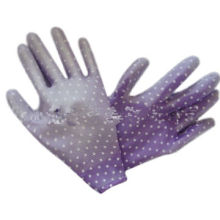13gg Printing Polyester Gloves, PU Coated