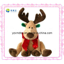 Cheap Christmas Reindeer Plush Promotional Gift