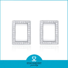 Square Earrings Stud for Girls (SH-E0046)