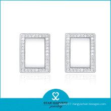 Square Earrings Stud for Girls (SH-E0046)