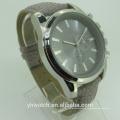 Luxury Fashion Quartz Type and Unisex Gender Mens Leather Watch