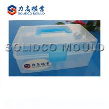 2018 caja plástica de la píldora envase molde caja de almacenamiento molde de inyección
