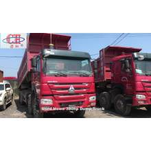 HOWO  Wheel 30ton Tipper Trucks