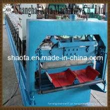 Máquina de moldagem de rolo de folha de telhado de auto-bloqueio de aço de cor (AF-R360)