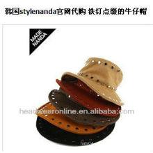 Faça em guang dong do chapéu do balde da forma