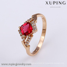 11824- Xuping elegante jóias quentes senhoras jóias anel de dedo de ouro