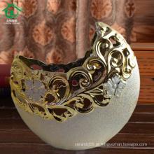 Tigela de frutas a granel barato tigela de cerâmica decorativa