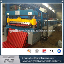 high quality and low price 762 corrugated roof tiles making machine