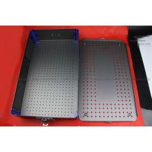OEM Aluminum surgery sterilize box Sterilized screw box