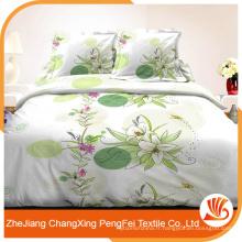 Fournisseur professionnel en gros tissu de tissu de lit en polyester bon marché en provenance de Chine
